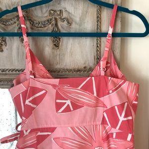 Lilly Pulitzer Dresses - Lilly Pulitzer Vintage Pink Jungle Wrap Dress sz 6